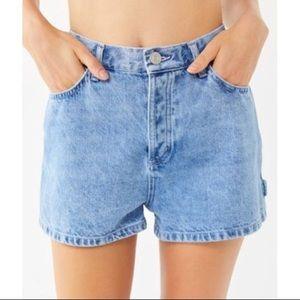 Calvin Klein Vintage High Waisted Jean Shorts
